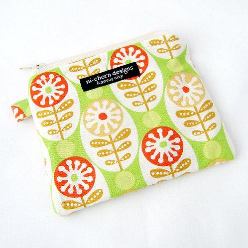 Orange Circle Flowers - CP