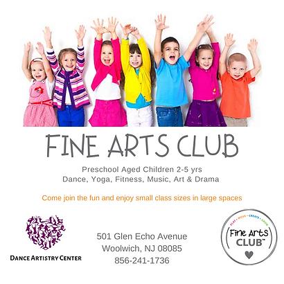 Ready Made Ads -  Studio Fine Arts Club .png