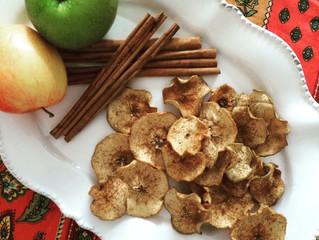 Cinnamon Ginger Apple Crisps