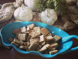 Seeded Cassava Crackers