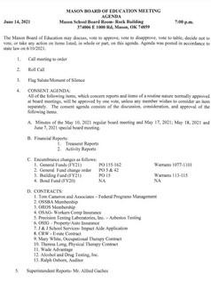 June 14, 2021 Board Agenda Pg 1.JPG