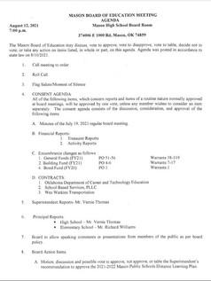 August 12, 2021 Agenda Pg 1.JPG