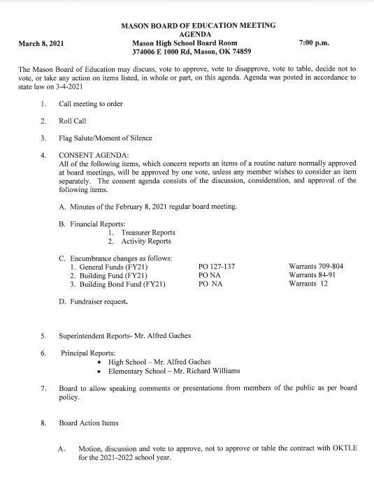 March 8, 2021 Agenda Pg 1.JPG