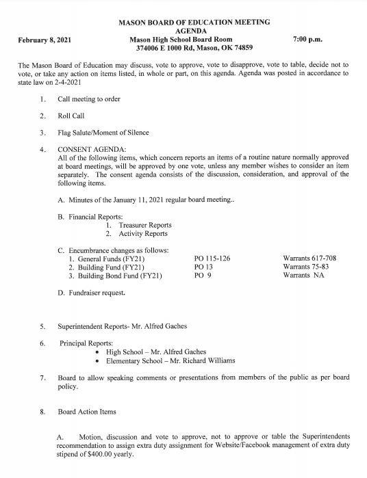 February 8, 2021 Agenda Pg 1.JPG
