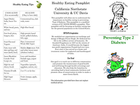 BPSHI Healthy Eating Tips