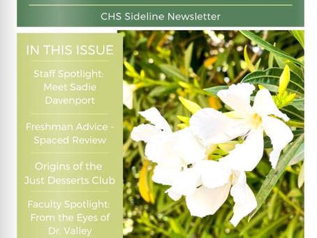 Newsletter Issue #1
