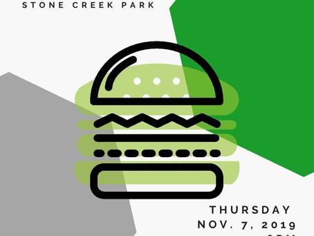 Upcoming Fall BBQ November 7th!