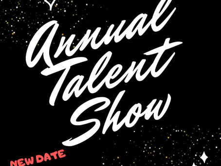 Talent Show coming October 11th! Sign up here!