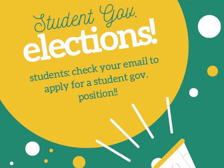 Student Government Elections!