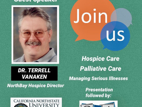 Hospice Director Guest Speaker Coming February 4th!
