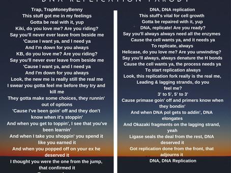 Kiki Challenge pt.2: DNA Replication Rap