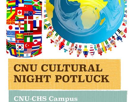 Cultural Night Potlock