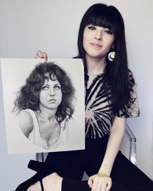 with my portrait of Grace Slick
