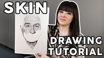 HOW TO DRAW SKIN tutorial
