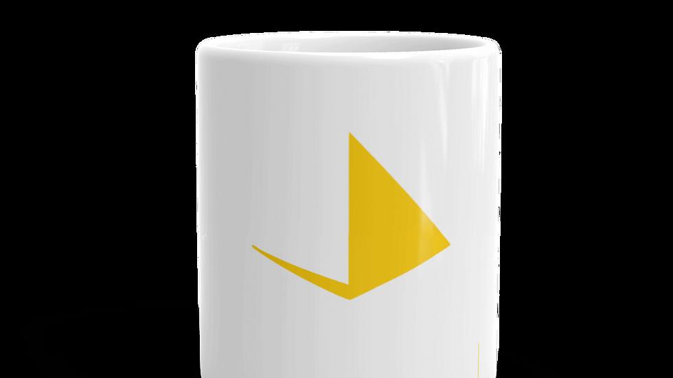 Healworld Productions Coffee Mug yellow