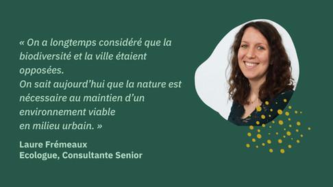 [Portrait] Laure Frémeaux, Consultante Senior Ecologue