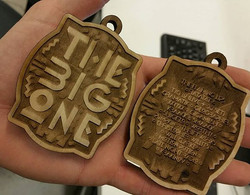 happy new years!__thebigonesf thanks _lyjarose _#thebigonesf_#laseretched #lasercut _playing with so