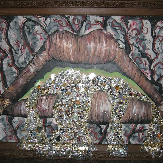 collab painting with _dreajanekato androgynous lips and lots more _P