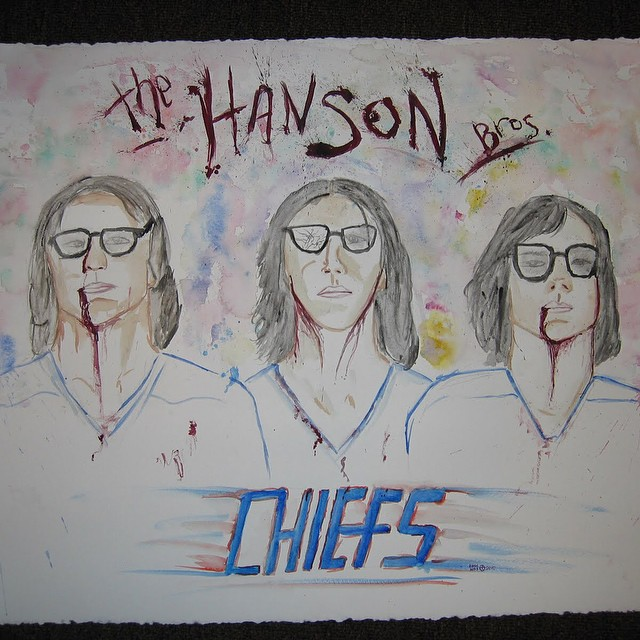 beloved #HansonBrothers #watercolor painting