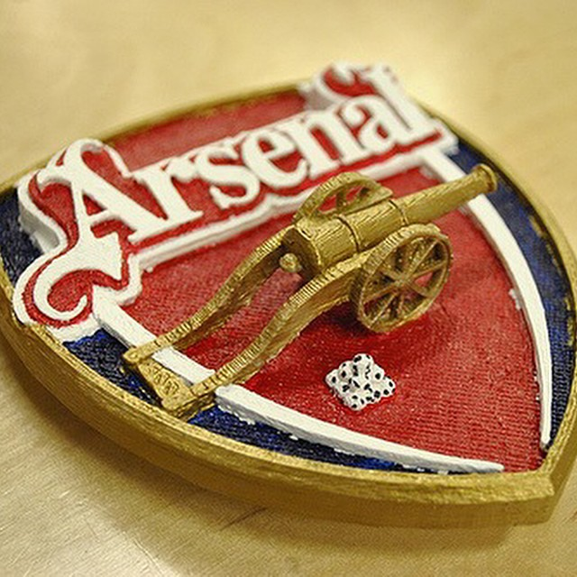 #3dprinted #Arsenal handpainted