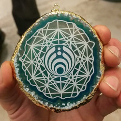 #bassnectar #basslove #basshead_#goldplated #agate #laseretched _#metatronscube #sacredgeometry_dis