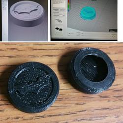 #ps4 #ninjaflex #3Dprint more ps4 controller knob covers..