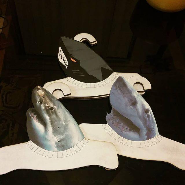 got #sharks _ #hangers #sjsharks_#auxsmade