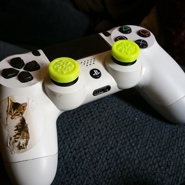 #filaflex #3Dprint #ps4 controller knob covers___the_fab_lab thanks for letting me play with this fi
