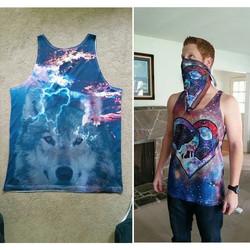 plurnt wolfpack crew tanks! _#adobeillustrator #photoshop #sublimationprinting_#plur #plurntwolfpack
