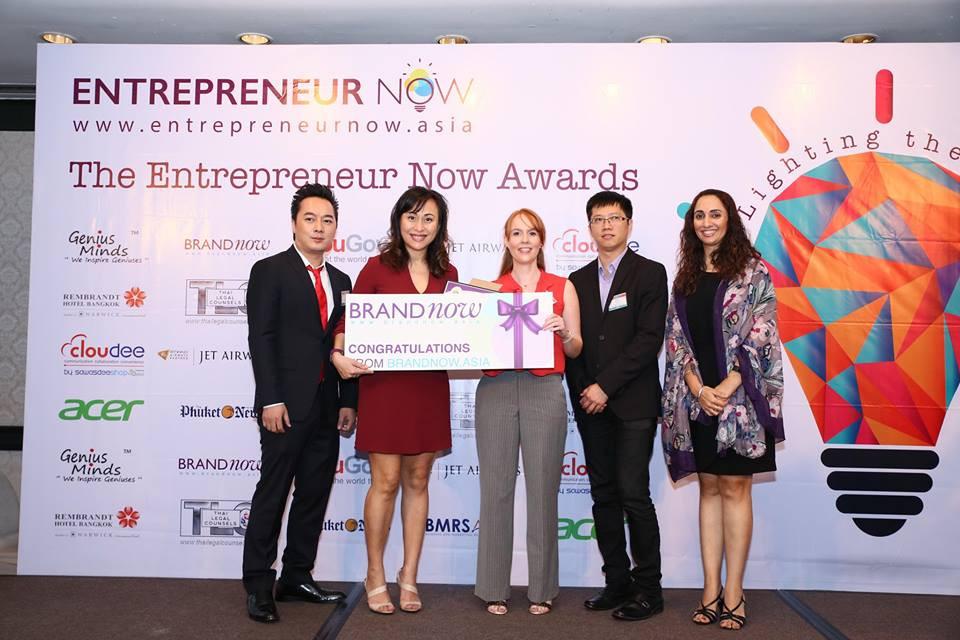 Winner of Outstanding Female Entrepreneur @ ENA Awards