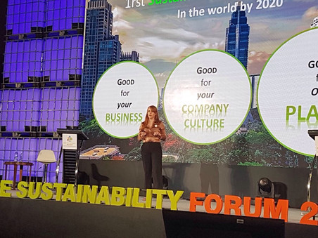 Guest speaker for MICE Sustainability Forum 2017: Sustainability as Business Model