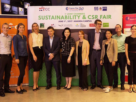Organizer of Bangkok's First Joint Chamber Sustainability & CSR Fair