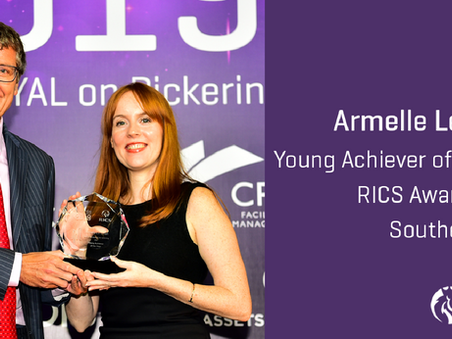 Armelle Le Bihan awarded Young Achiever of the Year