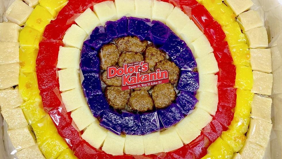 "Bite Sized Assorted Kakanin 17"""