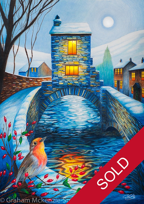 Winter's Bridge #2 (Sold)