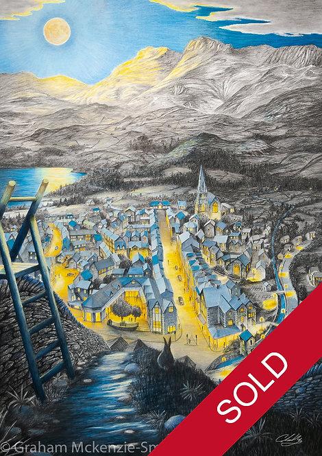 Ambleside in Moonlight (Sold)