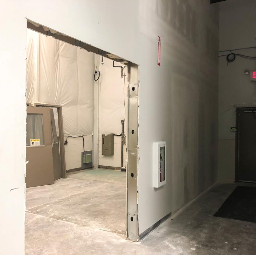 New compressor room