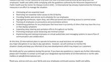Coronavirus (COVID-19) Impact Update