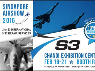 Visit S3 at the Singapore Airshow 2016