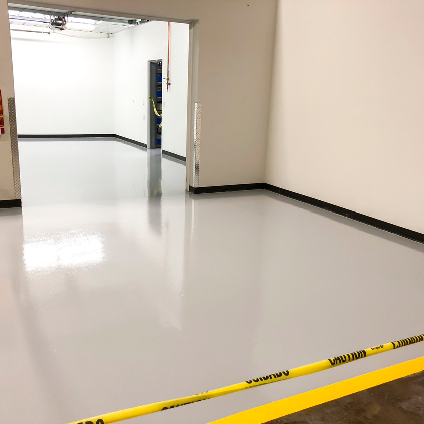 Completed floor for shipping
