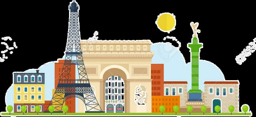 47007313-french-landmarks-vector-travel-