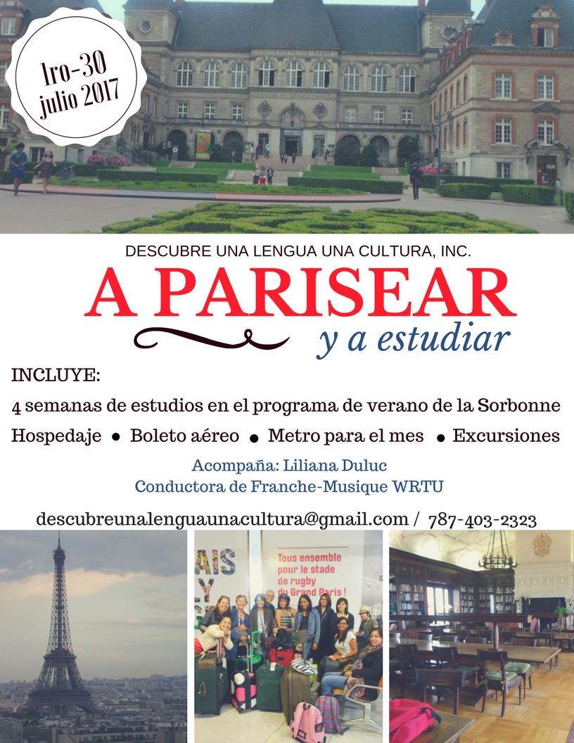 Promo vIaje Paris