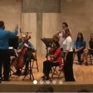 Conducting at YES Academy