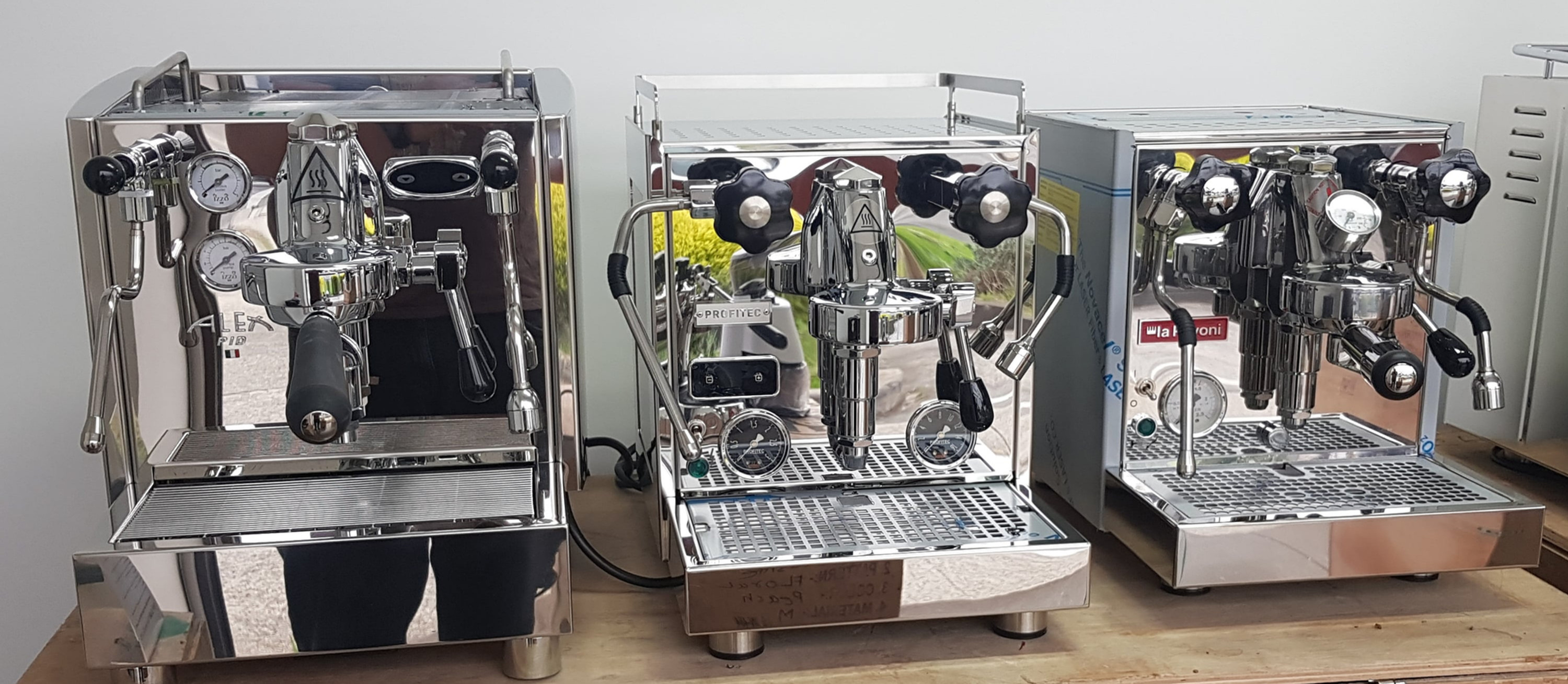 Consultation for a new coffee machine