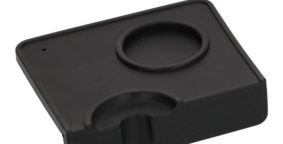 Corner Tamping Mat with Tamper and Portafilter Molded Inserts
