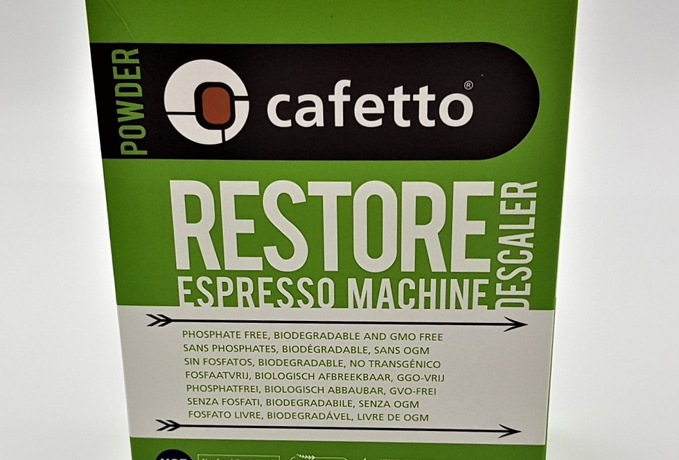 Cafetto Restore Descaler Sachets - 4 Pack