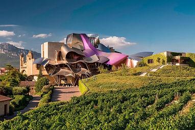 marques de riscal winery la rioja spain.