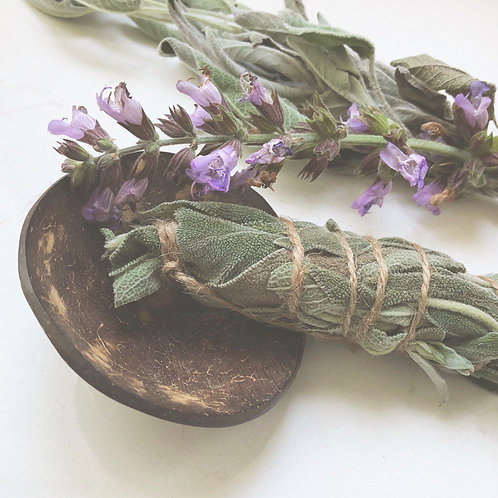 Medium Sage Stick for Smudging and Smoke Cleansing
