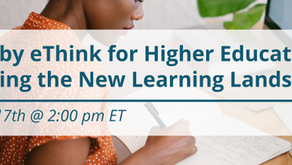 Moodle by eThink for Higher Education: Supporting the New Learning Landscape [Live Webinar]
