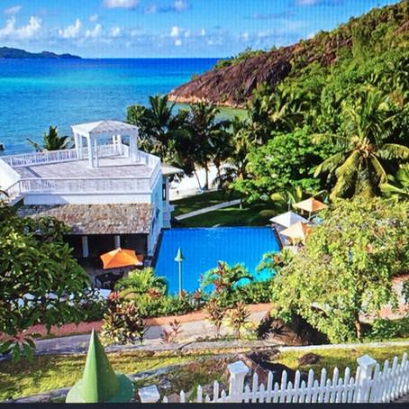 L'Archipal Hotel Swimming Pool Praslin, Seychelles